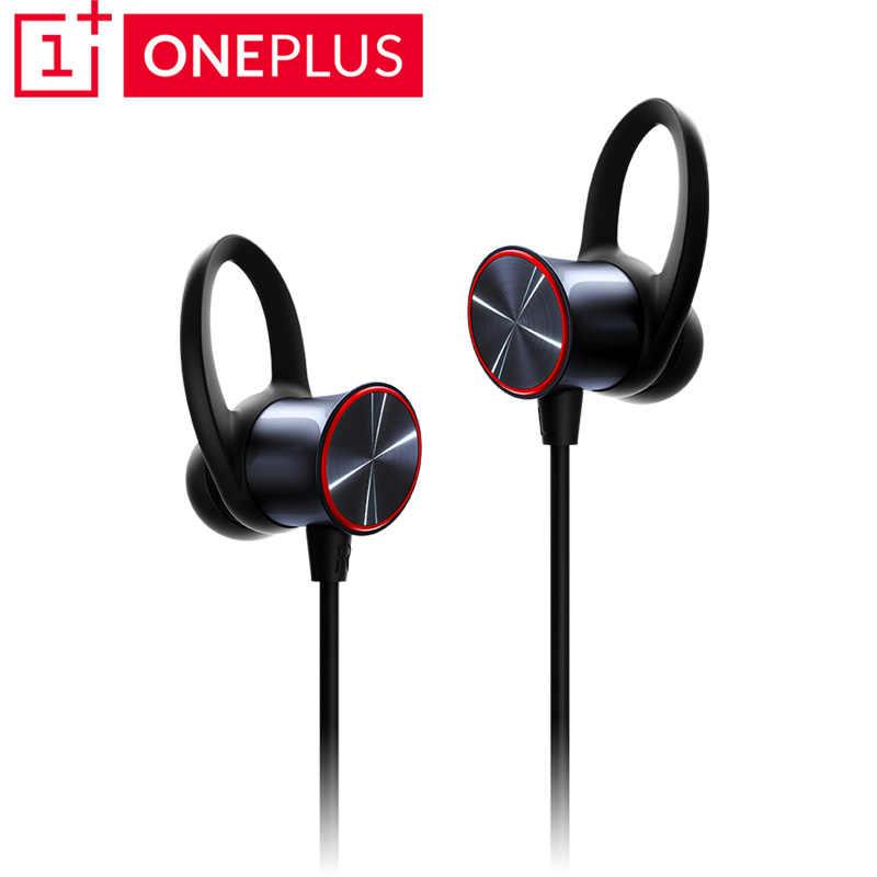 Оригинальные беспроводные наушники Oneplus Bullets aptX с шейным ободком для Oneplus 6, музыкальные наушники со свободным зарядным устройством, bluetooth-наушники