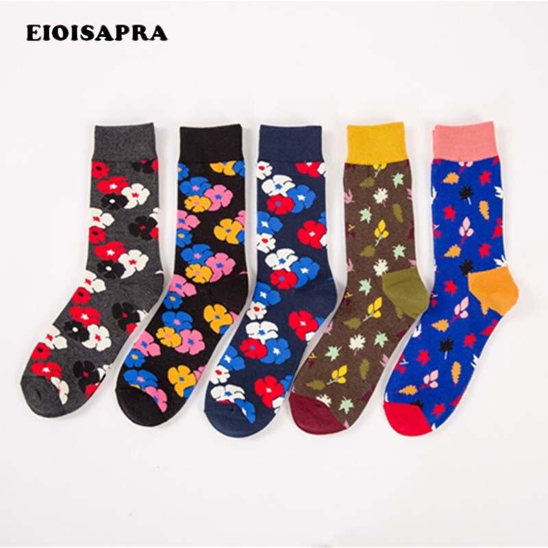 [EIOISAPRA]Dress Wedding Plus Size Art Abstraction Happy Socks Men Skateboard Hip Hop Funny Socks Unisex Crew Socks Calcetines