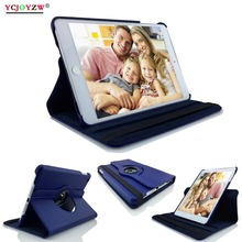 New 360Degree Rotating Leather Smart Cover Case for Apple iPad mini 1 mini 2 mini 3,A1432`A1454`A1489`A1491`A1599`A1600`A1601 цена 2017
