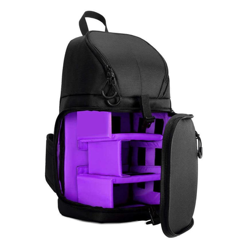 e53b387bd51 Camera Sling Bag Shoulder Cross DSLR Case Waterproof w  Rain Cover Soft  Padded Stylish Travel Tripod Men Women Bag Backpack