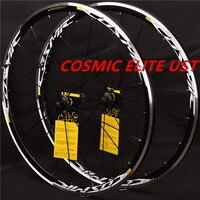 Cosmic ELITE UST 700C Alloy Wheels Road Bicycle Bike Wheel V Brake Wheelset Wheels Clincher Rims