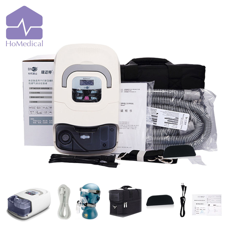 NEW HoMedical GI CPAP Machine with Nasal Mask + Humidifier + Carrying Case for Snoring(OSA) Patient new homedical gii cpap with humidifier and mask for sleep apnea patient osa patient snoring patient