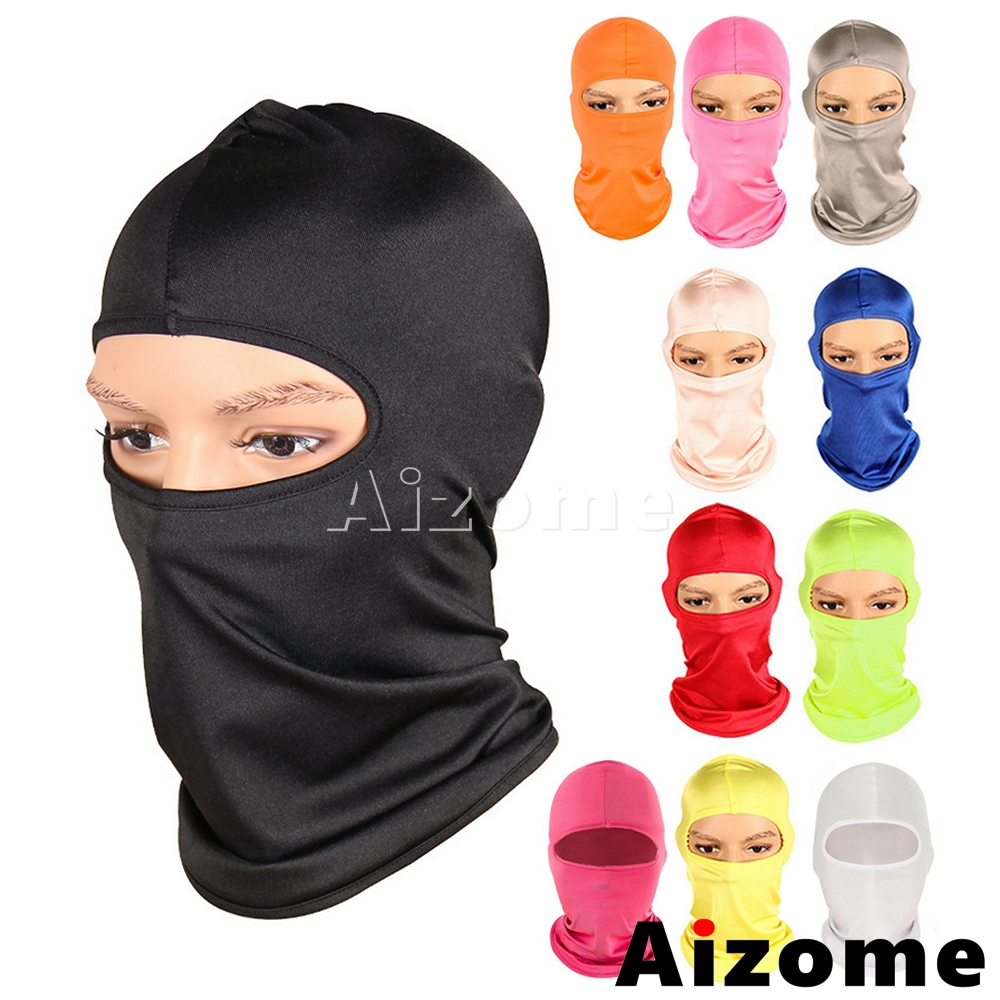 Breathable Cycling Ski Mask Outdoor Sports Mask Windproof Balaclava Motorcycle Mask Snowboard Wind Cap