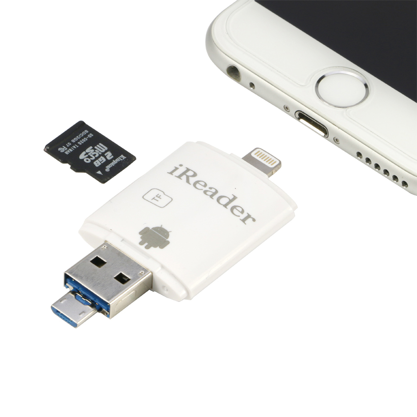 sd card reader for iphone 5 aliexpress buy external micro sd tf card reader 6406