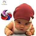 Recién nacido de invierno nuevo bebé unisex boy cabritos de la muchacha infantil del niño colorido de algodón suave lindo sombreros cap beanie