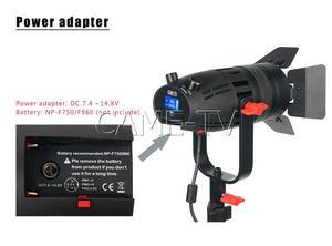 Image 5 - Boltzen Luz LED sin ventilador, luz Led Bicolor enfocable, sin ventilador, 30w, 3 uds., CAME TV, para vídeo