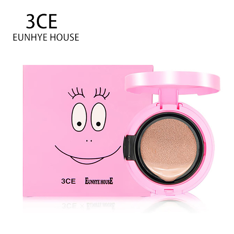 3CE Eunhye House Brand Face Makeup Air Cushion CC Cream Loose Enhance Skin Color Lasting Makeup Air Cushion BB Cream Cosmetics
