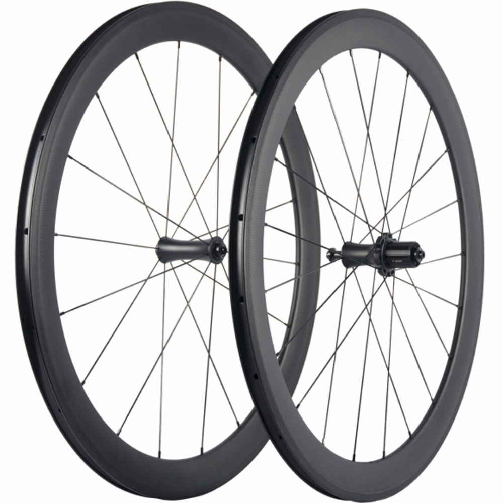 En céramique R7 Hub Carbone Roues 50mm Vélo Roues 700C Vélo De Route Compatible Enclume de Roues de Carbone
