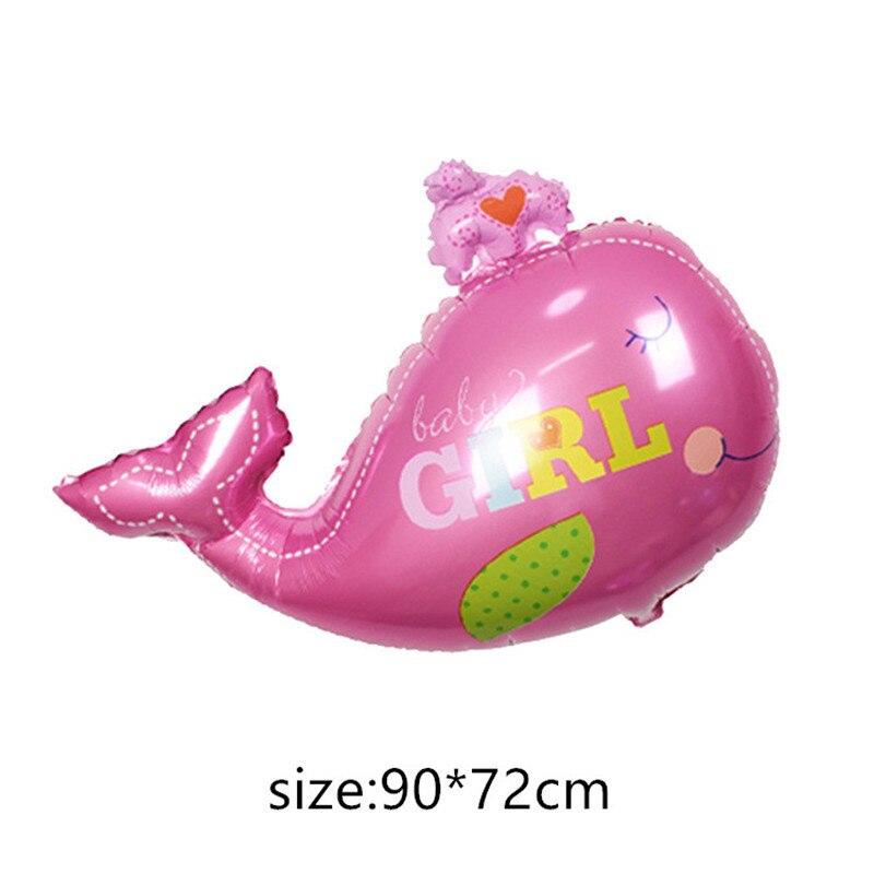 Воздушные шары из фольги для маленьких мальчиков, воздушные шары для детской коляски, шары для девочек на день рождения, надувные вечерние украшения, Детская мультяшная шапка - Цвет: 9