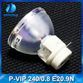 High quality compatible bare OSRAM projector lamp P-VIP 240/0.8 E20.9n for P-VIP 240W 0.8 E20.9N etc