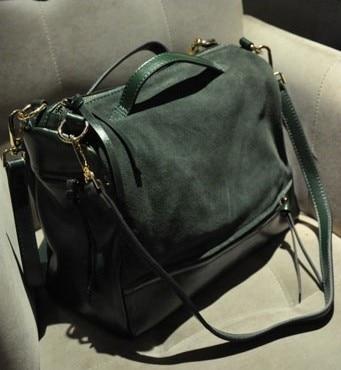 moda cubo estilo europeo y americano bolso de las mujeres Scrub 2014 moda vintage bolsa de mensajero borla bolso bolso