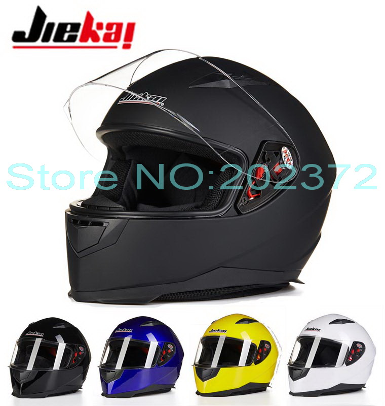 ФОТО Fashion JIEKAI Full Face motorcycle helmet winter knight racing motorbike helmets made of ABS JK-313  four seasons size L XL