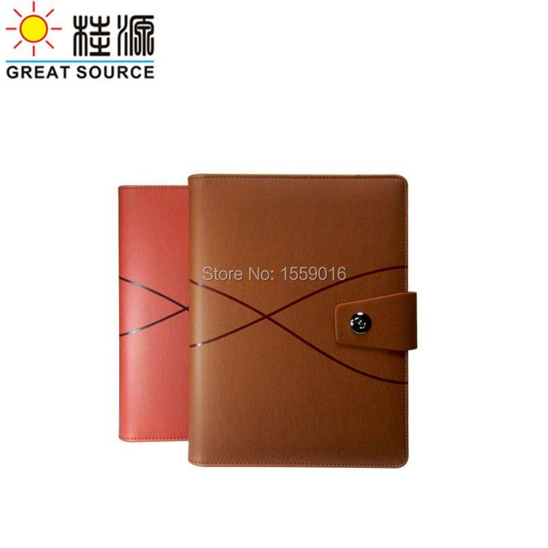 a5 leather ring binder diary folder ring binder