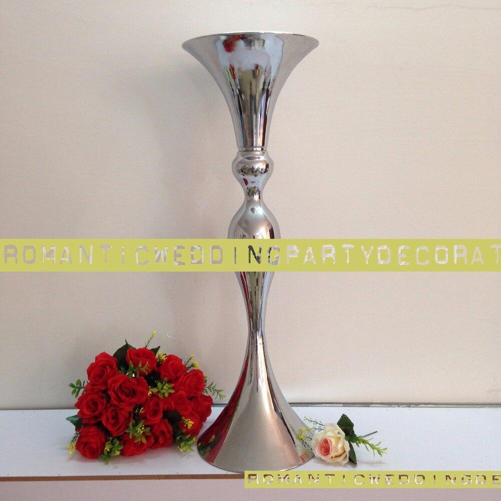 307 Silver Wedding Flower Vases Table Centerpiece Wedding