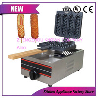 Gas Muffin hot dog waffle machine commercial non stick lolly muffin hotdog waffle maker