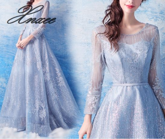 2019 ladies new elegant party dress