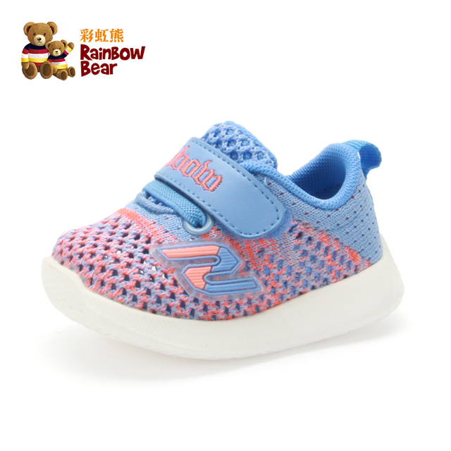 New 2019 Baby Shoes Sport Soft-soled First Walker Anti-slippery Sneakers for Boys & Girls #R9X8325