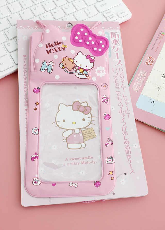 Nova Olá Kitty cat tinir PVC transparente saco de natação mergulho selo yey-0896