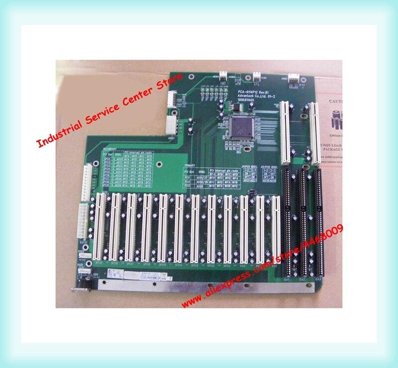 Backplane PCA-6114P12 Rev. B1 PCA-6114P12 12 PCI della scheda madre industrialeBackplane PCA-6114P12 Rev. B1 PCA-6114P12 12 PCI della scheda madre industriale