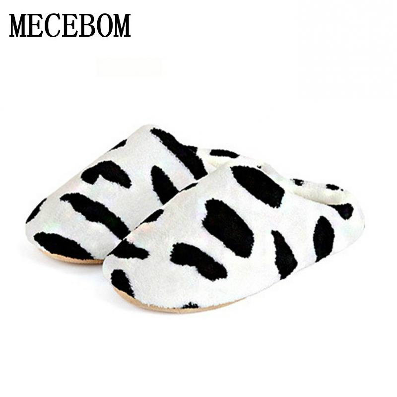 New Men and Women Anti-slip Flats Shoes flip flops Soft Winter Warm Cotton Cow House Indoor zapatillas Couple Slippers TX001W replacement rc car body shell spare part