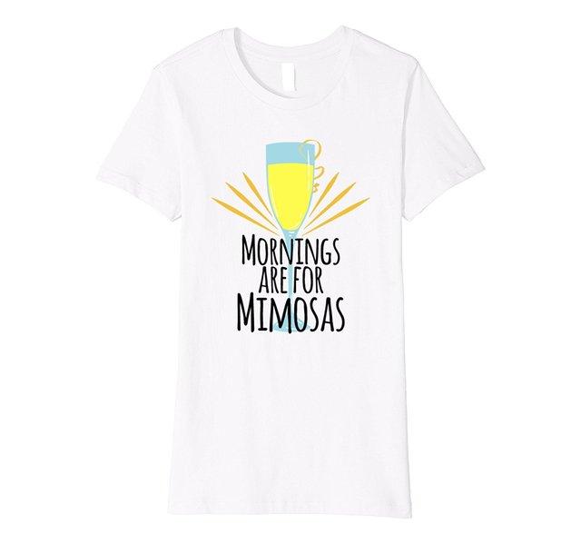 04663e6651765 Womens Morning Mimosa Brunch Drinking T-Shirt Femme Hipster Brand Fashion  Harajuku Kawaii Punk Tops Printed Funny T Shirts