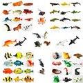 Подводные глубоководные тропические рыбы, экшн-фигурки животных акулы, обучающие игрушки для детей-разные стили