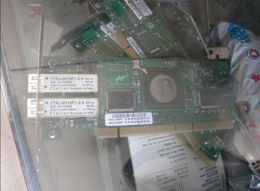 QLogic Fibre Controller Card for FTRJ8519F1-2.5 for DUAL лицензия qlogic lk 5800 4port8