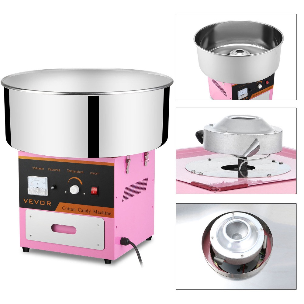 """21/""""Commercial Cotton Candy Machine Sugar Floss Maker Party Carnival Electric"""