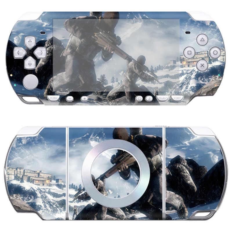Livraison directe imperméable à l'eau étanche à la poussière PVC vinyle peaux pour Sony PSP 2000 autocollant peau autocollant # TN-PP2000-340