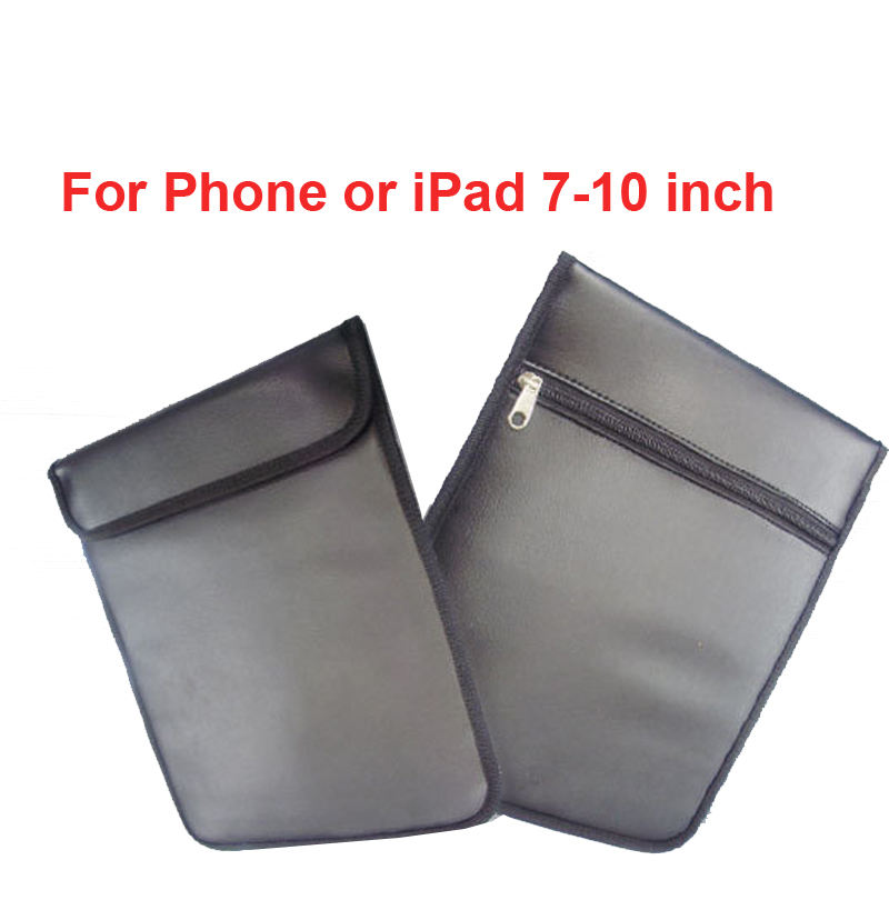 Anti-Scan Card PU Bag For Phones & 7-10