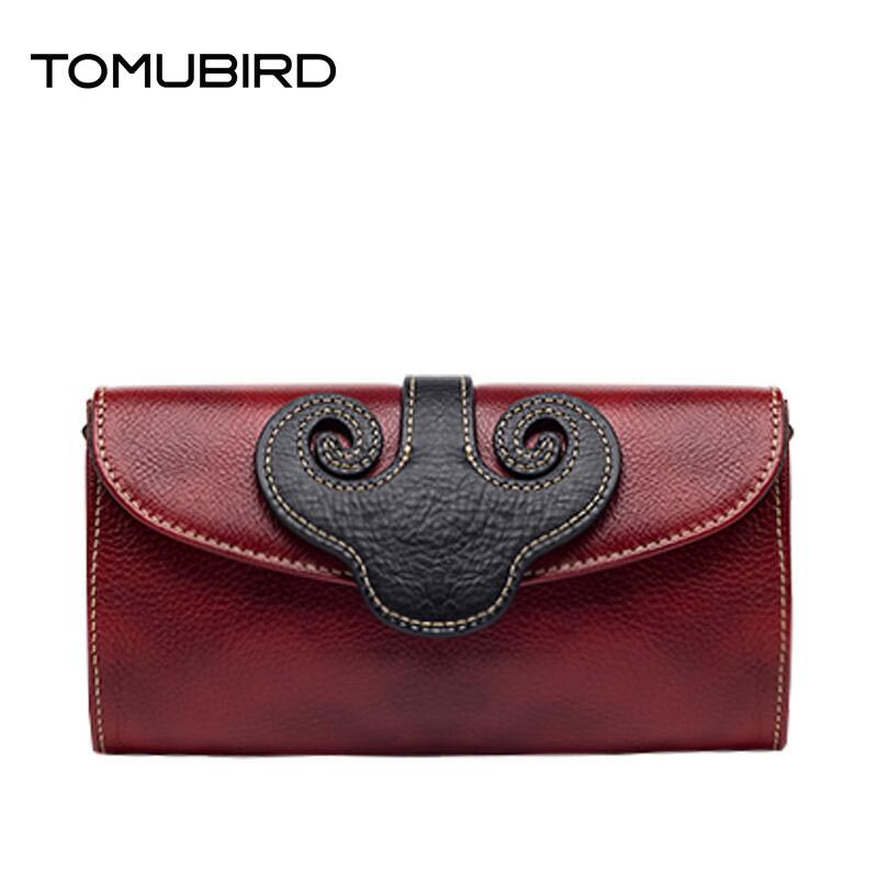 TOMUBIRD 2017 new fashion chinese style superior cowhide Leather women clutch bag embossed genuine leather women shoulder bag tomubird tomubird 2017 new chinese limelight cowhide small square bag high end retro shoulder messenger bag