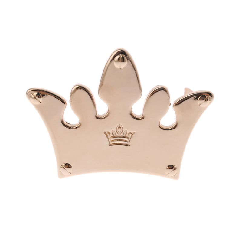 Crown Metal Bag Decoration For DIY Craft Handbag Shoulder Bags Hardware Accessories