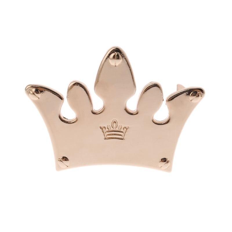 Crown Metal Bag Decoration for DIY Craft Handbag Shoulder Bags Hardware Accessories
