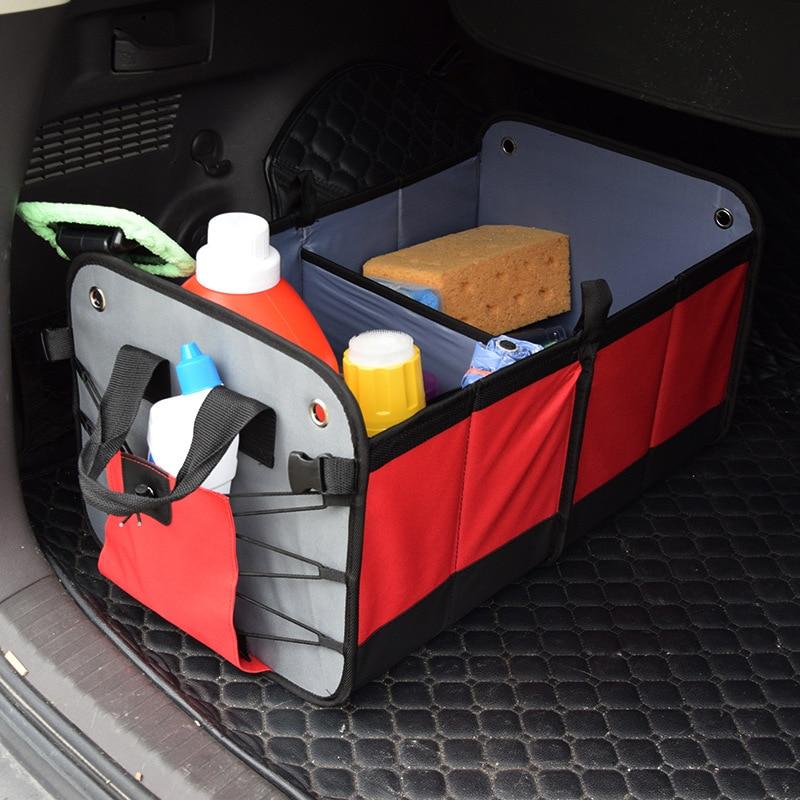 Disney Collapsible Storage Trunk Toy Box Organizer Chest: New Folding Car Trunk Organizer Toys Food Bag Car Trunk