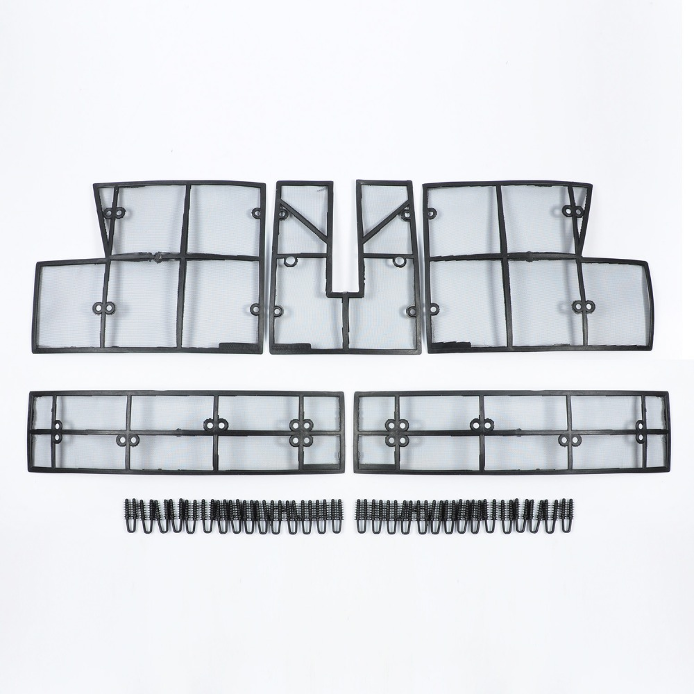 Wotefusi Stainless Steel ABS Insect Grille Mesh Grill Inserts Insect Net Insect Proof Net for Toyota
