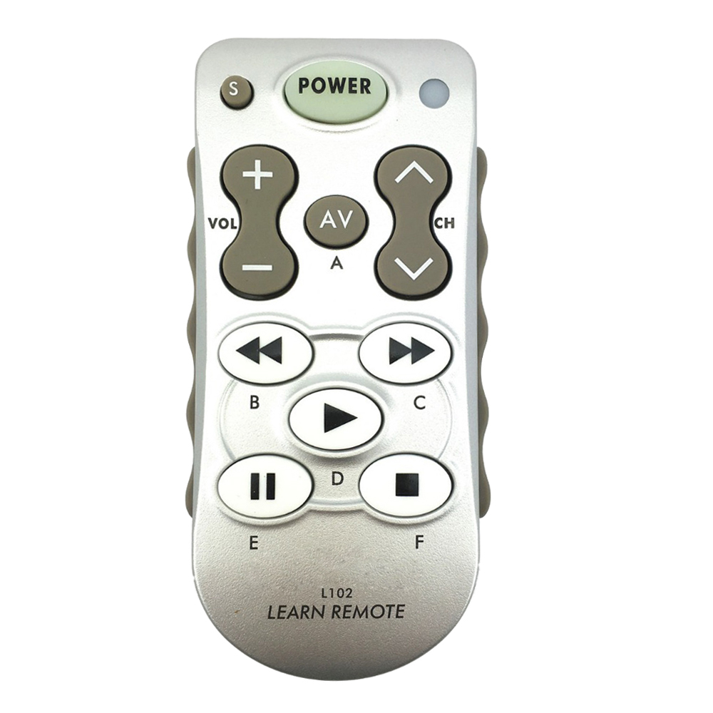 Top Deals L102 Learning Remote Control Use for TV/SAT/DVD/CBL/CD/DVB-T