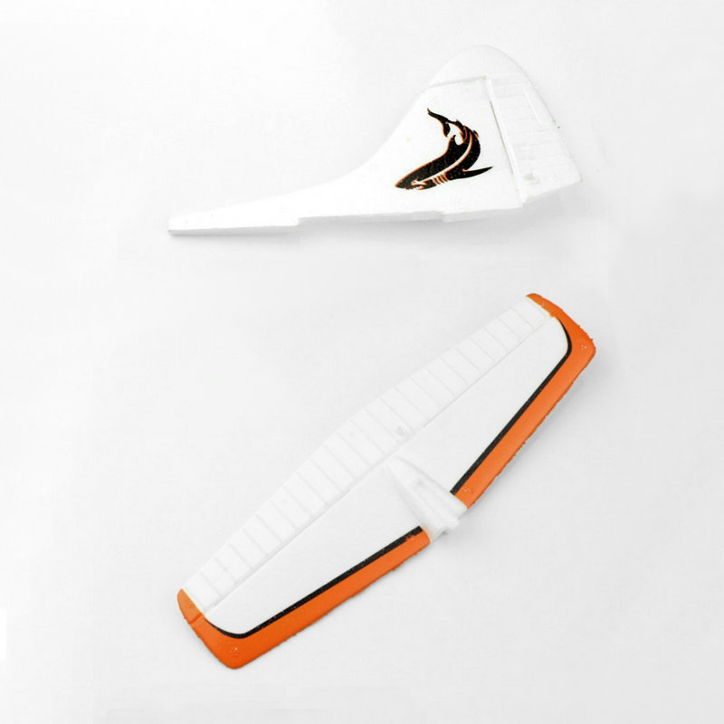WL Toys XK A600 003 004 Vertical and Horizontal Tail Fin RC Airplane A600 Spare Parts image