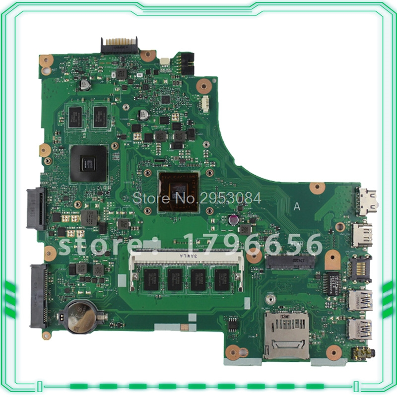 for ASUS X452E X450EP REV:2.0 integrated Laptop Motherboard fully tested & working perfect S-4 samxinno original for asus x55a laptop motherboard rev 2 1 2 2 100% tested perfect integrated mainboard