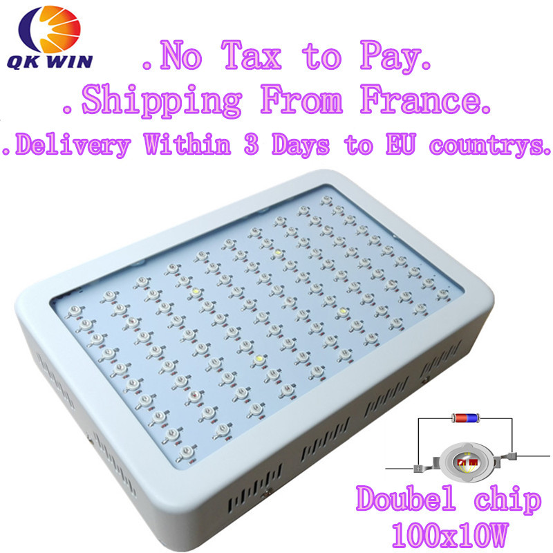 France Warehouse Drop Shipping Qkwin 1000W LED Grow Light