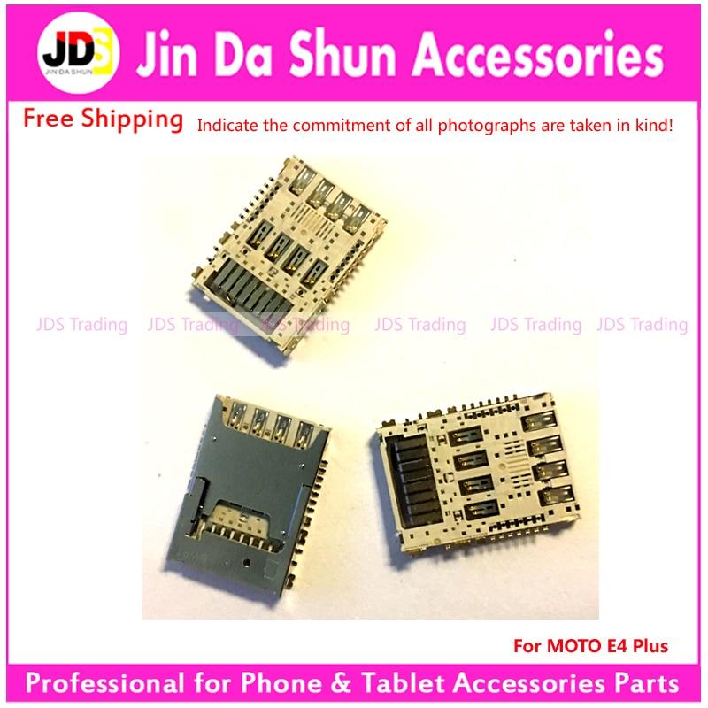 US $10 0  For Motorola Moto E4 Plus E4+ Sim Card Reader Socket Inner Sim  Holder Tray Slot Connector Replacement Repair Parts-in Mobile Phone Flex