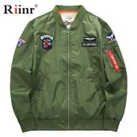 Riinr Men Jacket Men Baseball Collar Quilted Zip Closure Jacket Men Pockets Keep Warm In Winter Manteau Homme Outwear Male