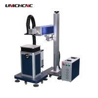 Small spearated co2 Ceram plastic Lead Sealing laser marking machine