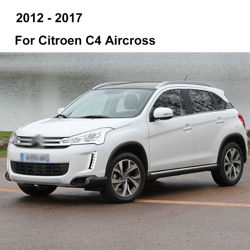 REFRESH Щетки стеклоочистителя для Citroen C4 Hatchback / Coupe / Sedan / Aircross Fit Pinch tab / Push Button / Hook Arms с 2004 по год - Цвет: 2012 - 2017 (Cross)