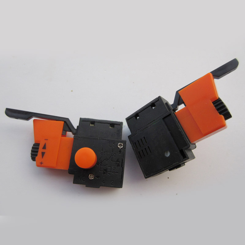 Free shipping! Boutique Electric hammer Drill Speed Control Switch for Black & Decker 10mm Switch, Electric hammer Tools free shipping electric hammer drill speed control switch for bosch gbh20 24 gst85pbe power tool accessories