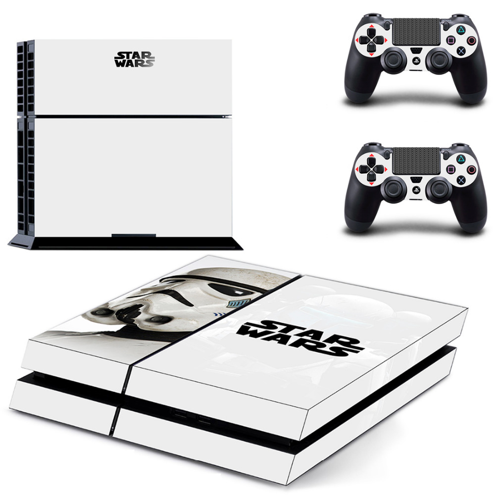 Skin-Sticker Decal 2-Controller Star-Wars Vinyl-Accessory Sony Playstation PS4 Film  title=