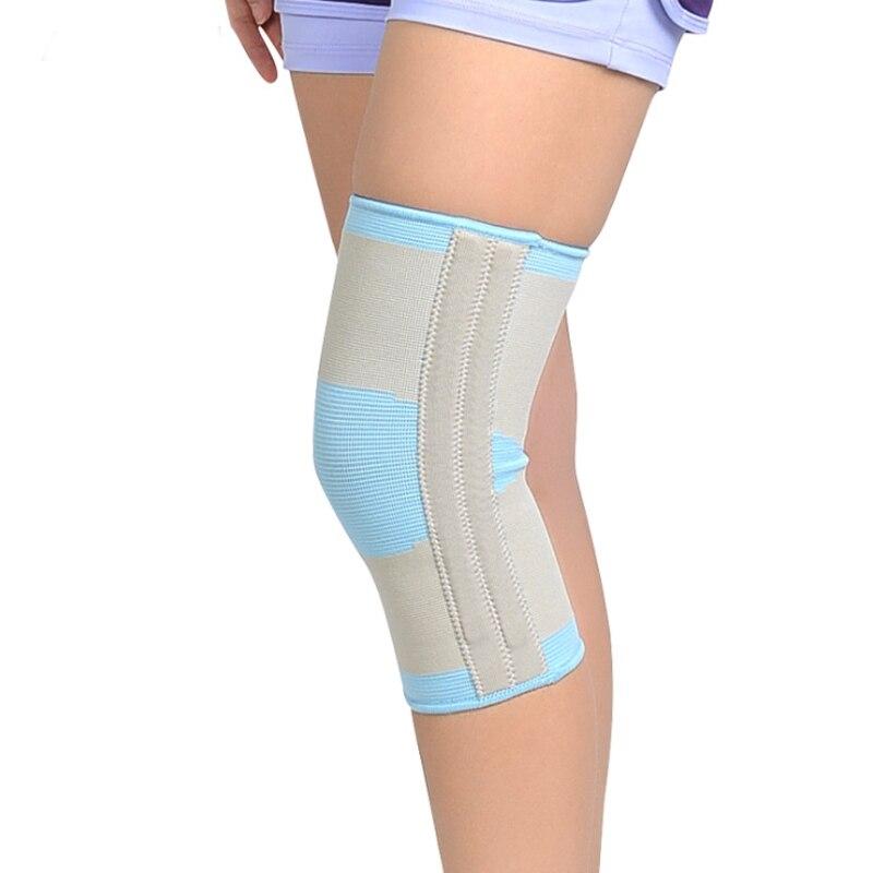 Blessfun Ginocchio Medical Supporto Ortesi Brace rotula cintura Giunto sollievo dal Dolore Al Ginocchio Stabilizzatore Lesioni del Menisco Ammorbidire Rotuleo