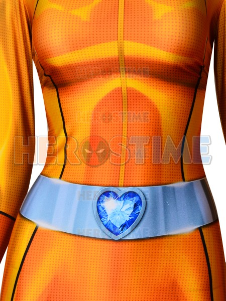 Alex Totally Spies Woman Cosplay Costume 3D Print Lycra Spandex Superhero Cosplay Zentai Catsuit Freeshipping
