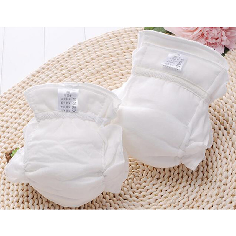 Baby Washable Diapers Soft Comfortable Nappies Reusable Infant Newborn Cloth Diaper Liners 100% Cotton Luiers Diaper