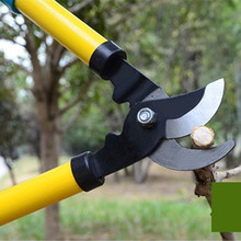 High Carbon Steel Garden Pruning Shears Slippery Handle Gardening Scissors Cut Thick Branches Tools Bonsai Supplies