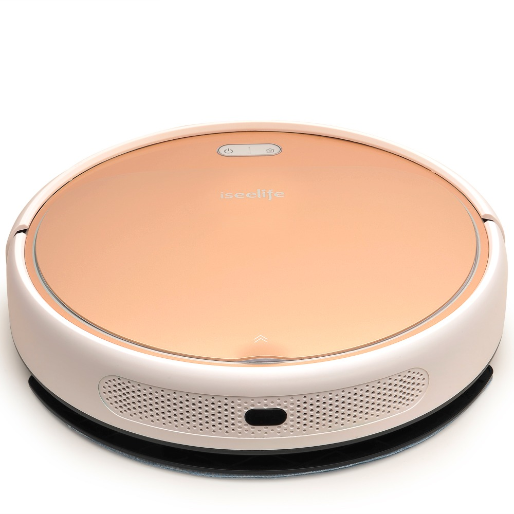 ISEELIFE 1300PA Smart Robot Vacuum Cleaner 2in1 for Intelligent Cleaning of Dry and wet Floor 4